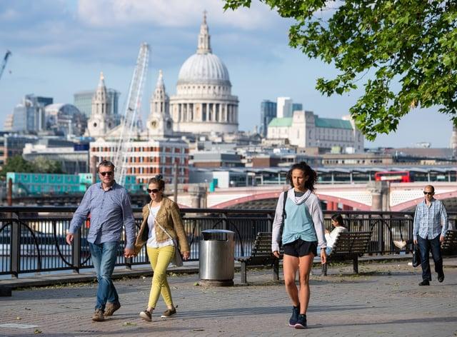City of London scenes