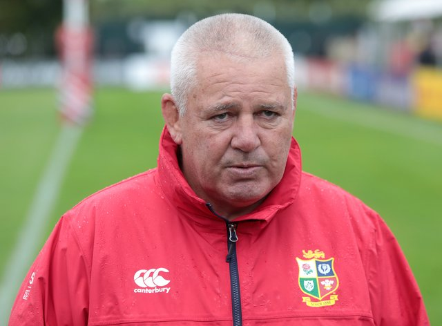 """Warren Gatland, pictured, could pull off a """"bonkers achievement"""", according to Gareth Thomas"""