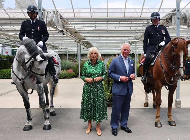 The Prince of Wales and Duchess of Cornwall at Hyde Park