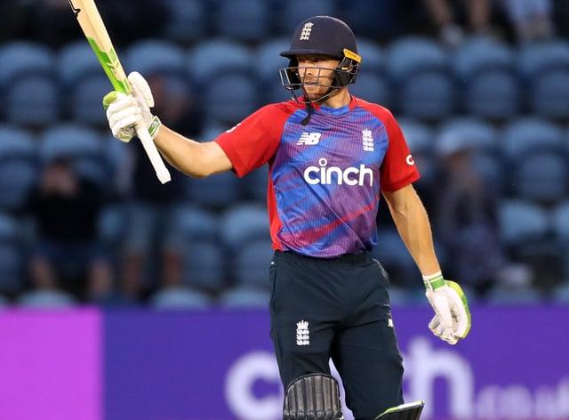 Jos Buttler helped England to victory over Sri Lanka (David Davies/PA)