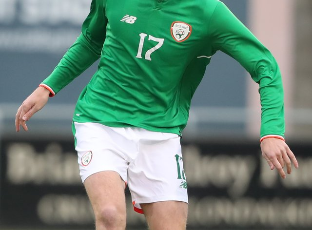 Conor Shaughnessy is a former Republic of Ireland Under-21 international (Niall Carson/PA).