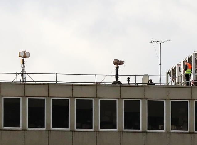 Drones close Gatwick airport
