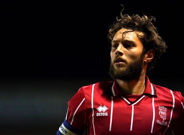Jorge Grant impressed for the Imps last season, scoring 17 goals