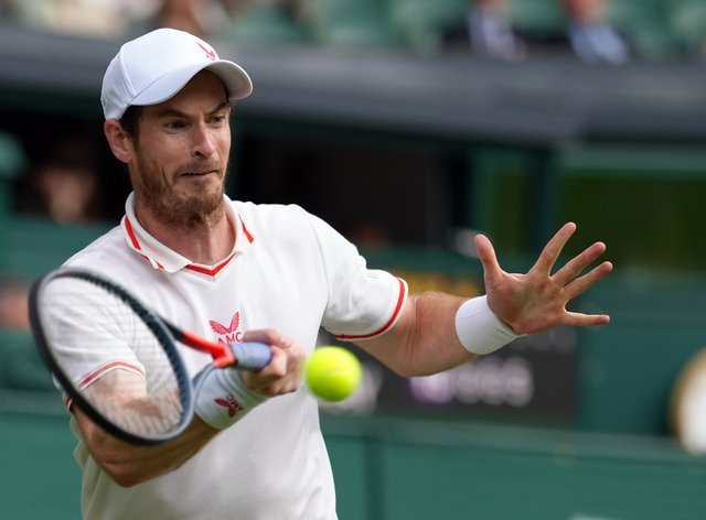 Andy Murray will take on German qualifier Oscar Otte in the second round