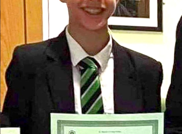 BEST QUALITY AVAILABLE Undated family handout file photo issued by the PSNI of 14-year-old Noah Donohoe who was found dead in a storm drain in north Belfast in June 2020, six days after he went missing (Family/PA)