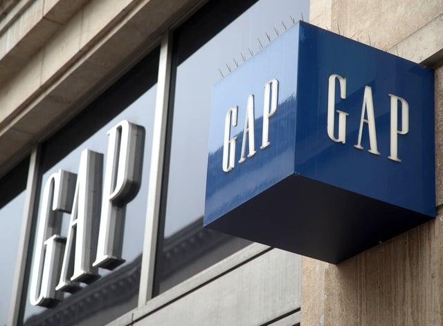 <p>A Gap store</p>