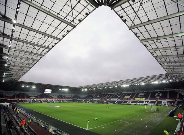 A view inside Swansea's Liberty Stadium