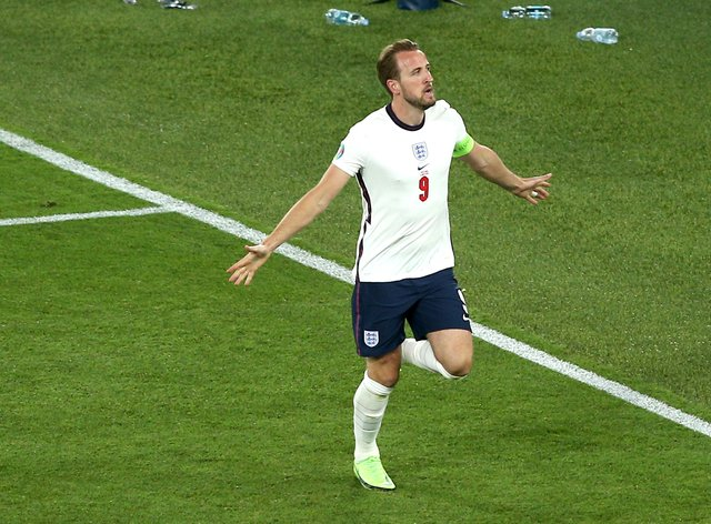 Harry Kane scored twice in England's 4-0 win over Ukraine in the Euro 2020 quarter-finals