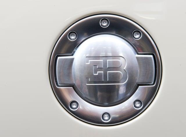 Detail on a Bugatti Veyron
