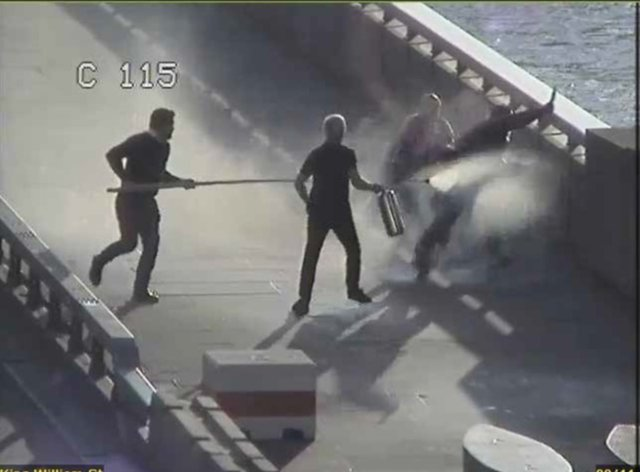 Fishmongers' Hall terrorist Usman Khan was confronted by three men including Steve Gallant on London Bridge