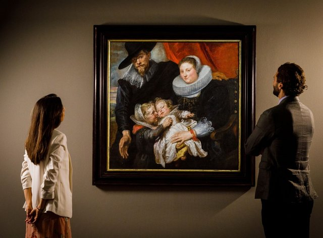 A painting by Sir Anthony van Dyck which was recovered from Nazi Germany is expected to fetch more than £1,000,000 at auction