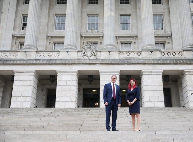 Keir Starmer visit to Belfast