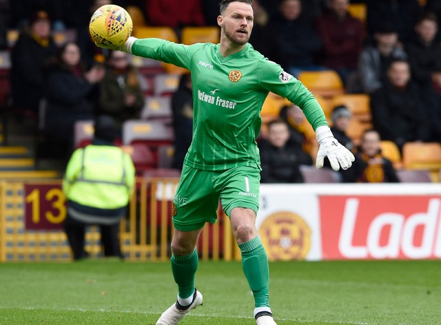 Trevor Carson has moved to Tayside