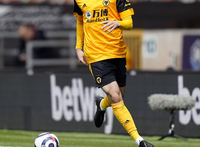 Rayan Ait-Nouri in action for Wolves