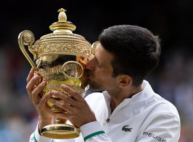 Novak Djokovic hoovered up another grand slam title