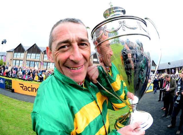 Davy Russell at Punchestown