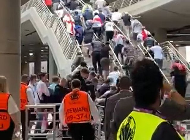 The FA will carry out a full review into security breaches at Sunday night's Euro 2020 final at Wembley