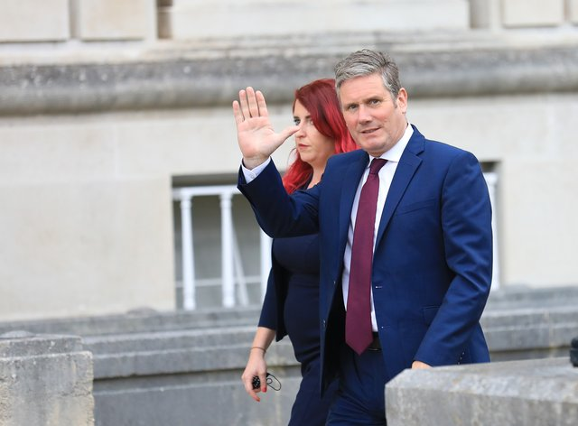 Labour Party leader Sir Keir Starmer is due to embark on a summer tour of Britain