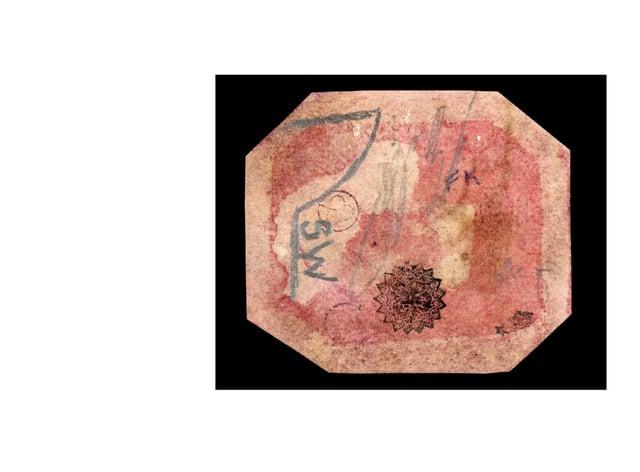 The world's rarest stamp, the British Guiana 1c Magenta (1856)