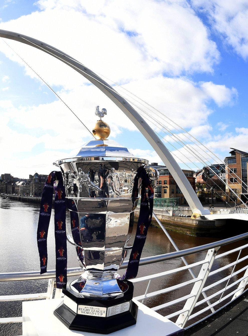 RLWC2021 Trophy in Newcastle
