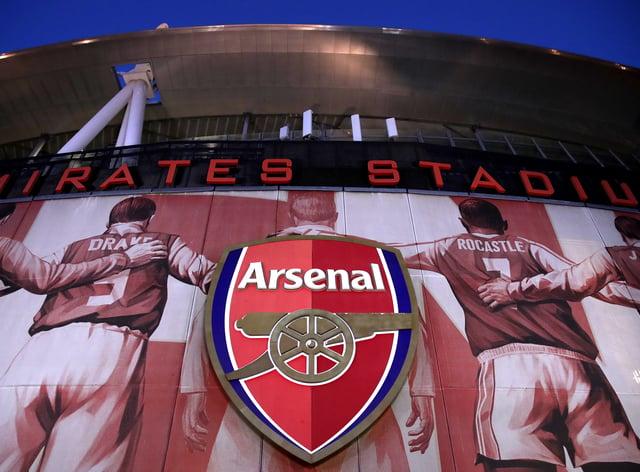 An external shot of Emirates Stadium