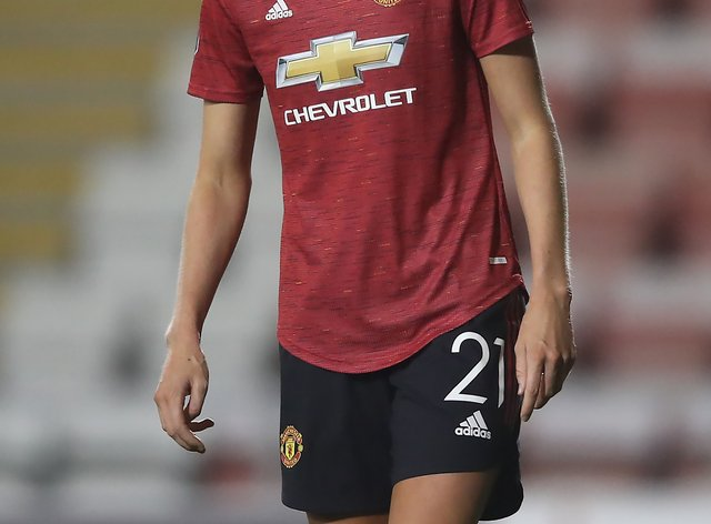 Millie Turner has been with Manchester United for three years (Martin Rickett/PA).