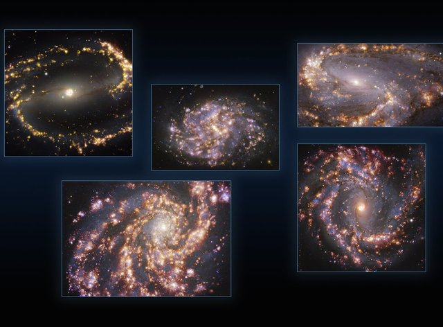 Observations of the nearby galaxies