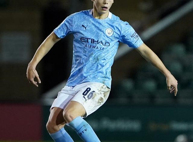 Manchester City's Callum Doyle is an England Under-18 international (Zac Goodwin/PA).