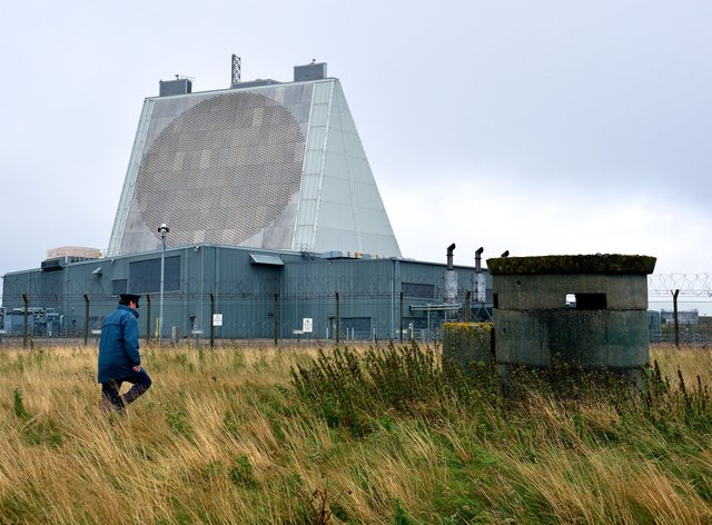 RAF Fylingdales, where the US already operates an early warning system to detect ballistic missiles in space