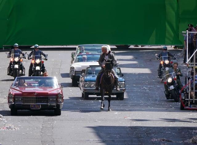 Indiana Jones filming in Glasgow
