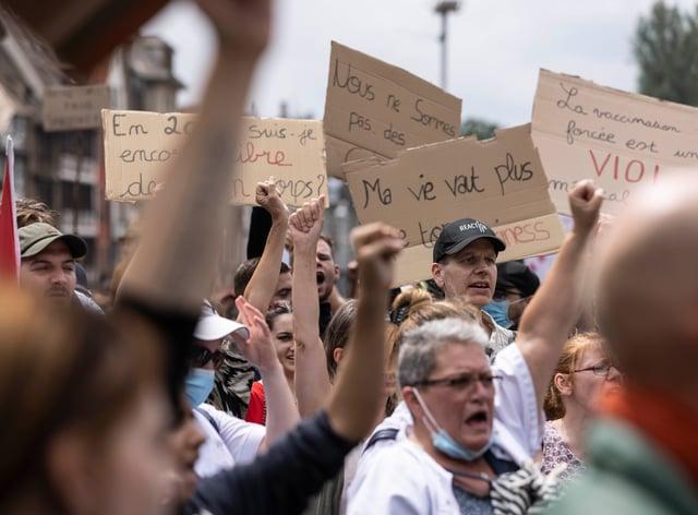 Strasbourg rally