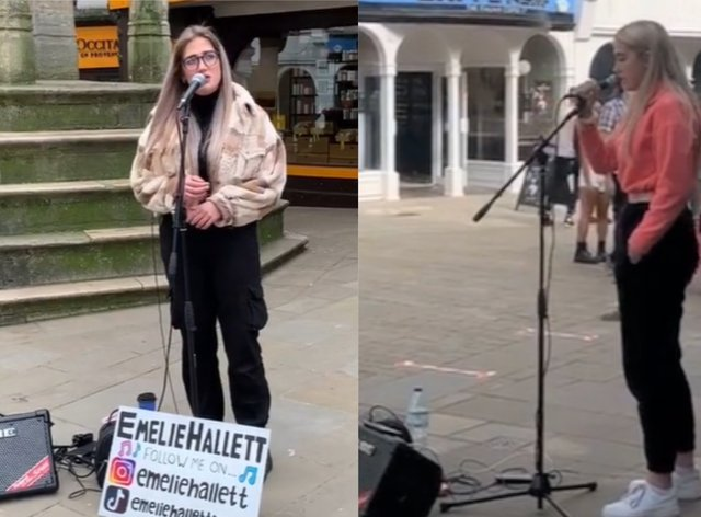 Buskers take to TikTok to showcase talents as high streets empty due to Covid-19
