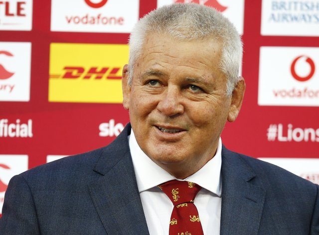 Warren Gatland has begun picking the Lions' test side to face South Africa on Saturday