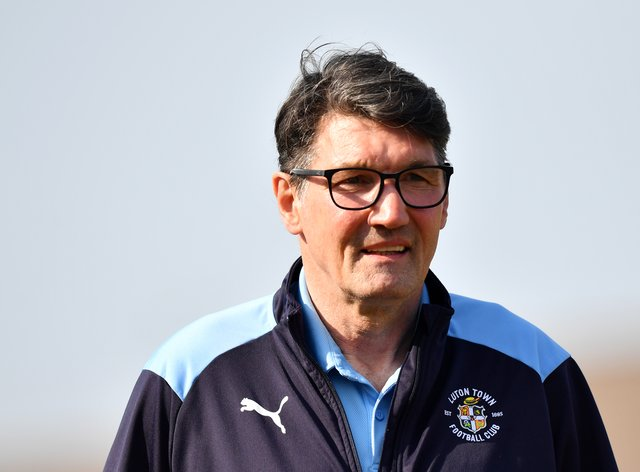 Mick Harford in Luton jacket