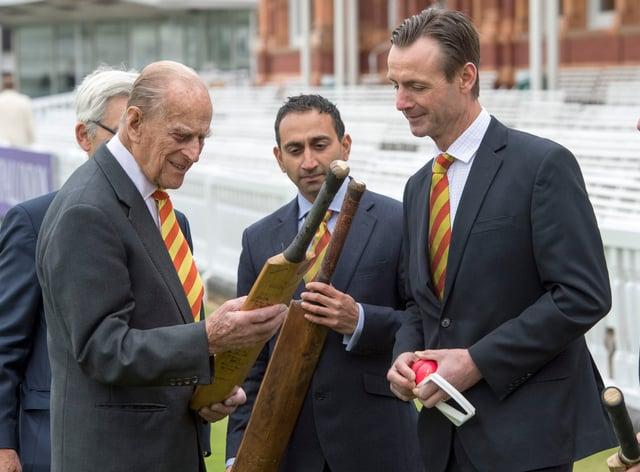 John Stephenson, right, is leaving Marylebone Cricket Club