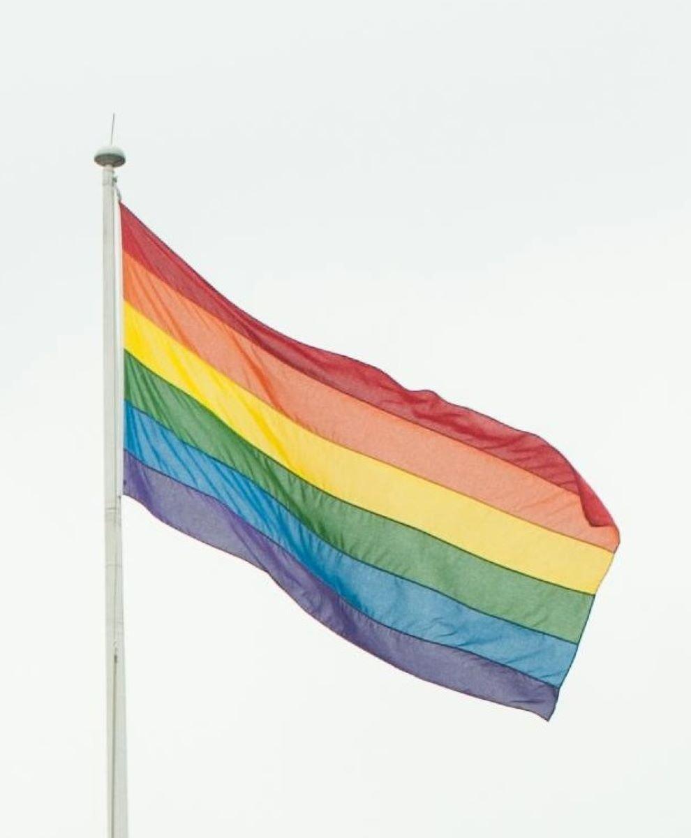 The rainbow flag (Dominic Lipinski/PA)
