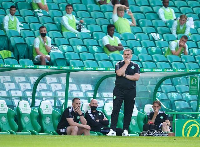 Celtic boss Ange Postecoglou hopes fitness levels are good enough for Midtjylland