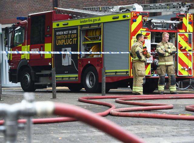 Walthamstow mall fire