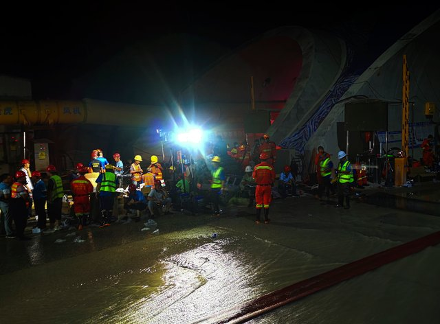 China Tunnel Flood