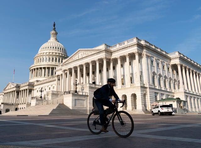 The US Capitol (Jose Luis Magana/AP)
