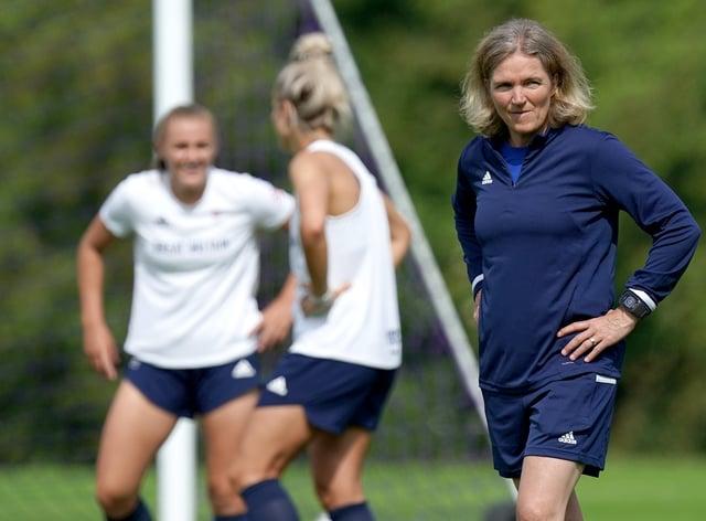 Team GB Women's Football Training Session – Loughborough University