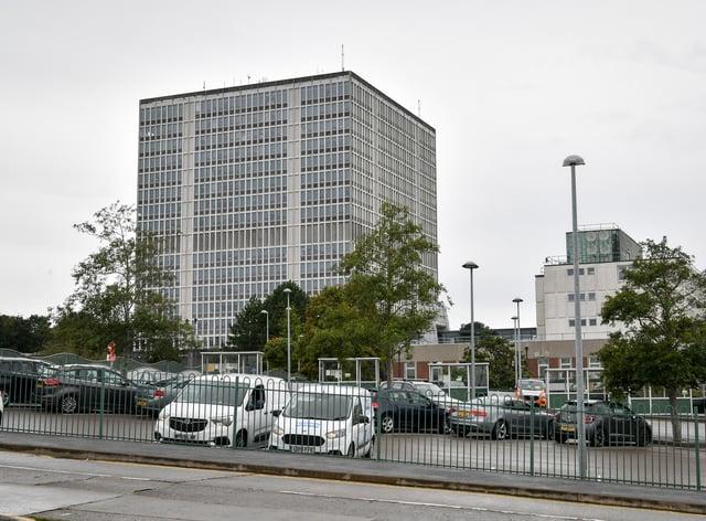 The DVLA's office in Swansea