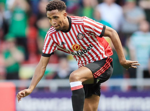 Brendan Galloway during his time at Sunderland