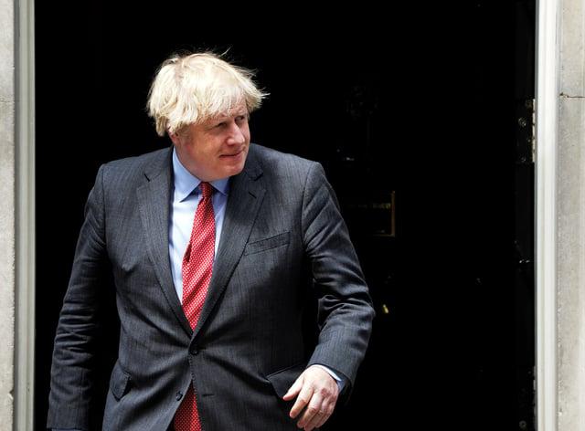 Boris Johnson meets Abdul Hamid Dbeibeh