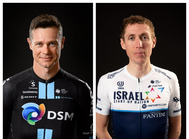 Cousins Nicolas Roche and Dan Martin will race in their third Olympics togethe