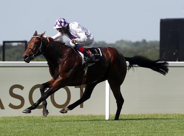 Poetic Flare won the St James's Palace Stakes at Royal Ascot (David Davies/PA)