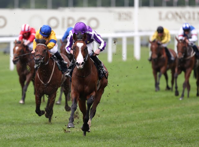Point Lonsdale won the Chesham Stakes at Royal Ascot