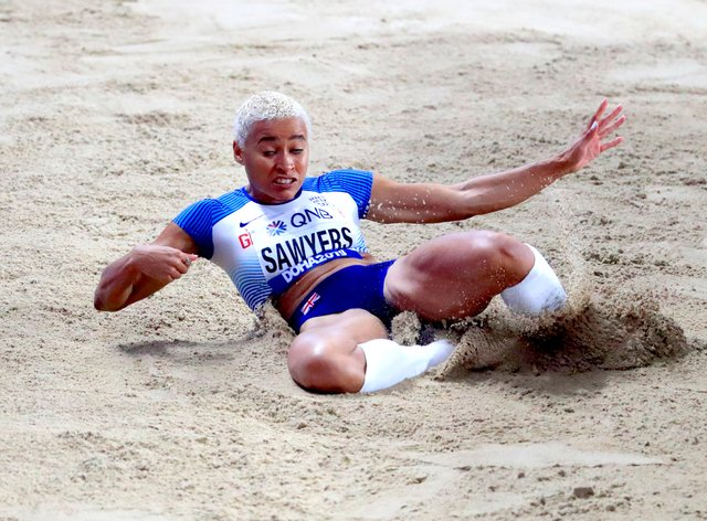 Jazmin Sawyers has been giving followers a view of life in Tokyo (Mike Egerton/PA)