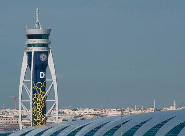 Dubai International Airport (Jon Gambrell/PA)