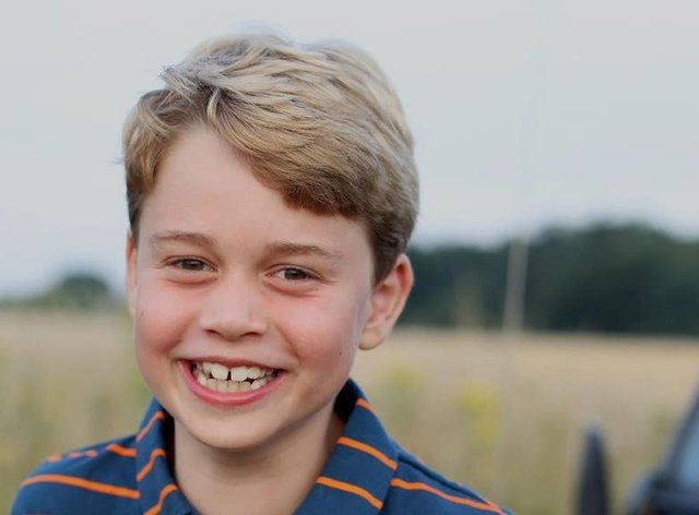 Birthday boy Prince George is eight today